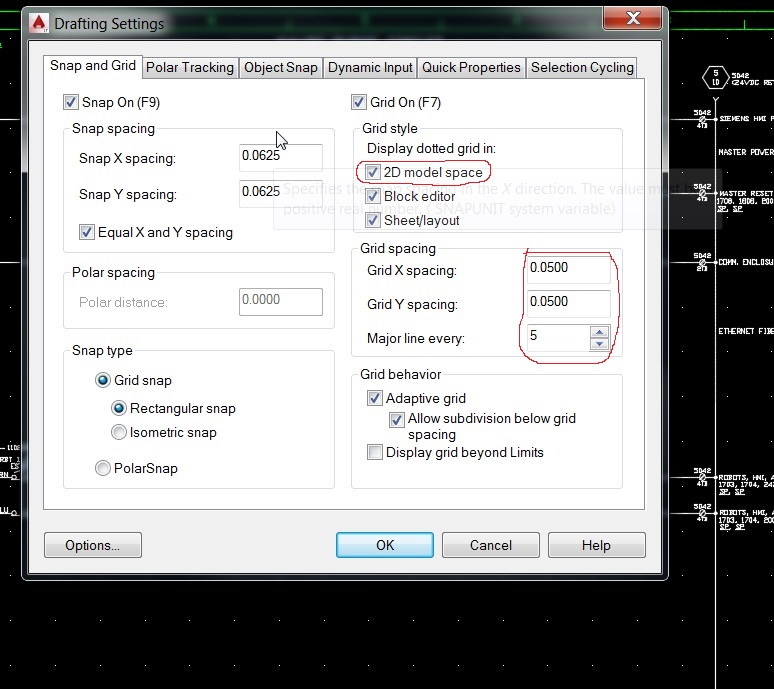 Solved AutoCAD 2015 - Grid and Snap Mode - Autodesk Community