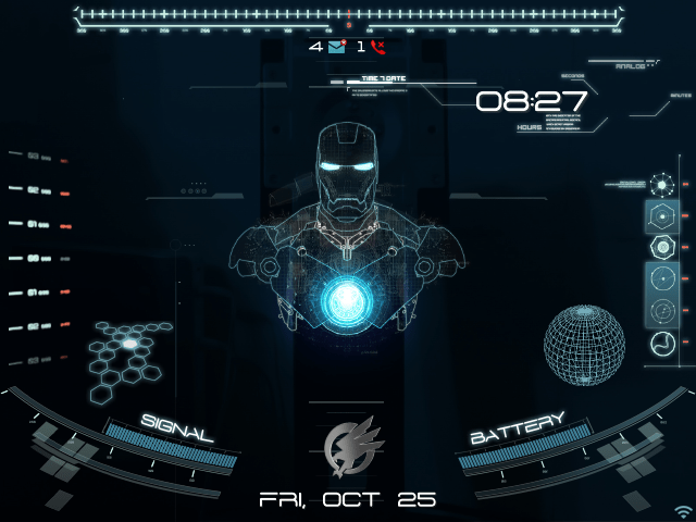 Jarvis 3d Wallpaper Premium Animated Jarvis Theme Blackberry Forums At