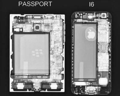 Passport Vs IPhone 6 (via the medium of X-Ray) - BlackBerry Forums at CrackBerry.com
