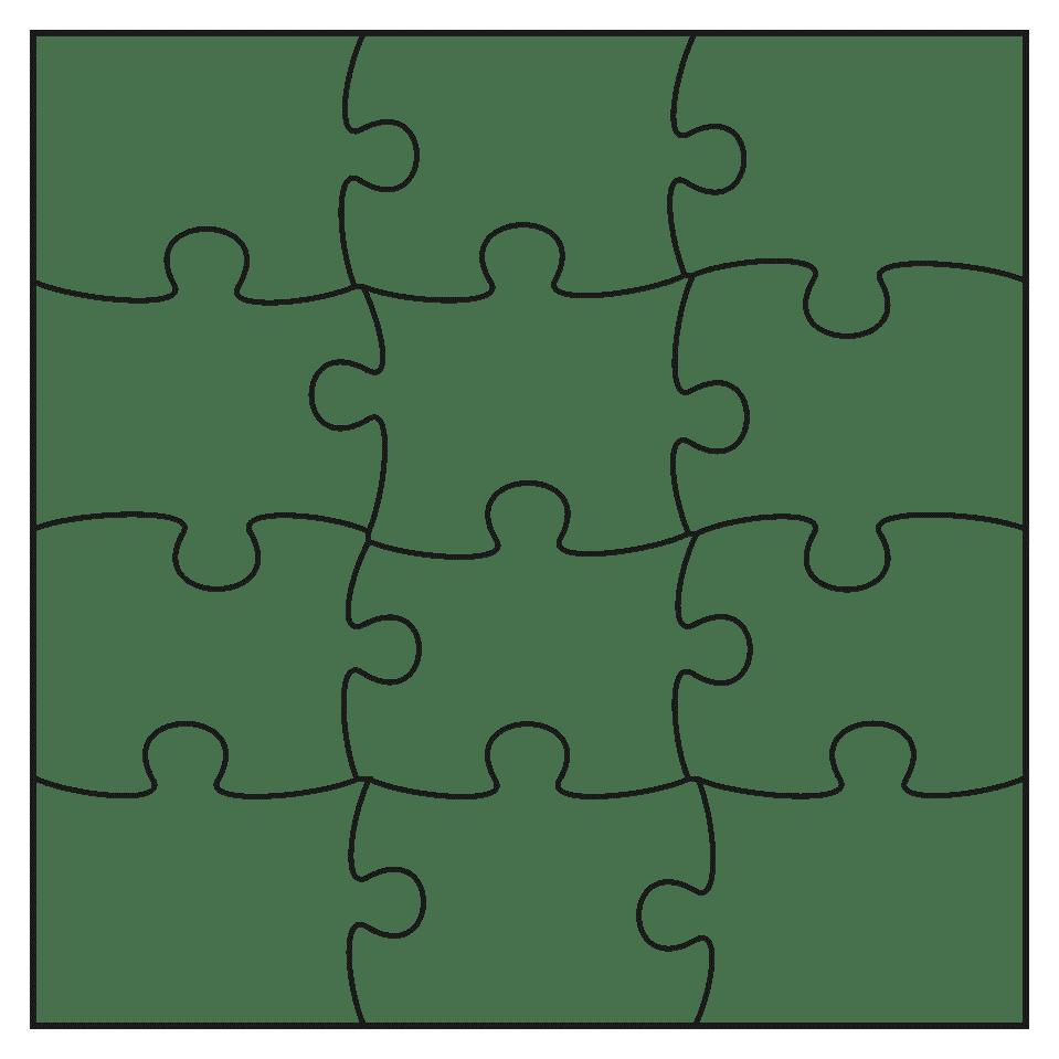 Giant Puzzle Piece Template – Puzzle Piece Template