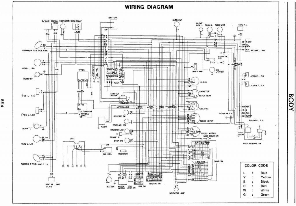 240Z Wiring Diagram - Members Albums - HybridZ