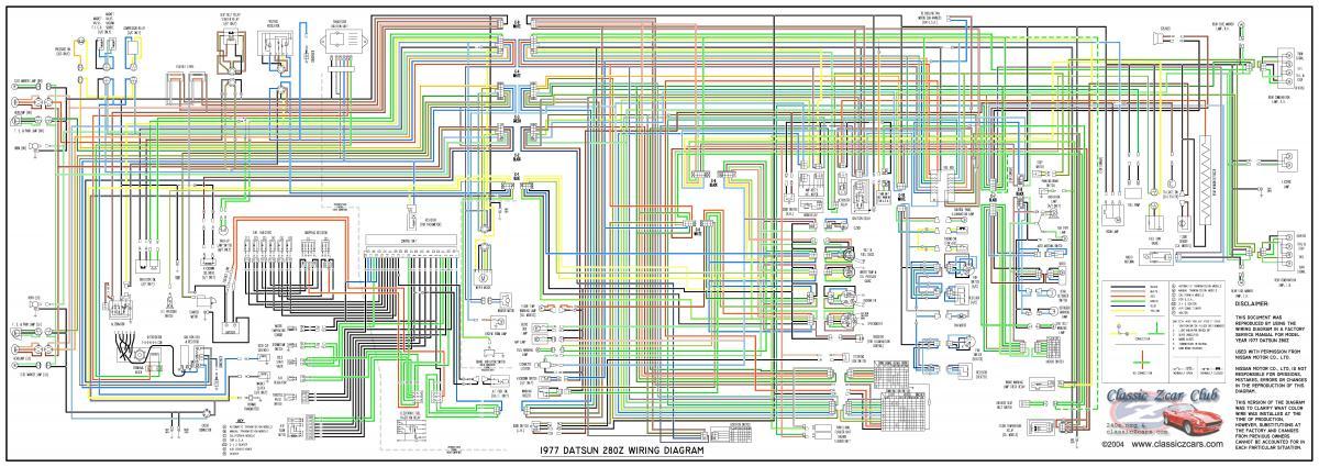75 280z Wiring Diagram Wiring Diagram