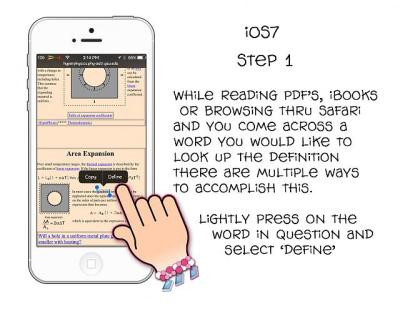 [GUIDE] How to define a word using iOS7s built in dictionary - iPhone, iPad, iPod Forums at ...