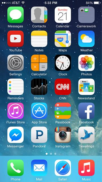 Show us your iPhone 6 Homescreen - iPhone, iPad, iPod Forums at iMore.com