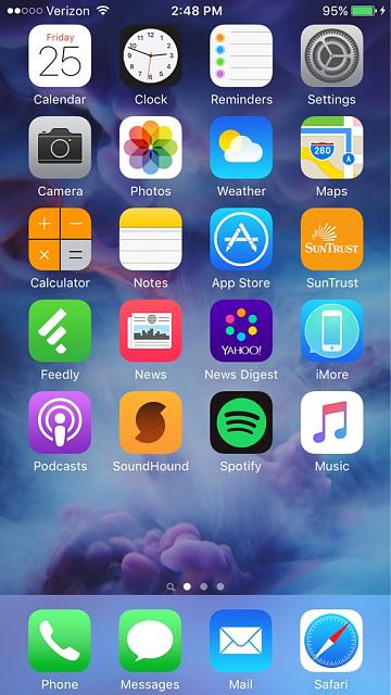 Iphone X Live Wallpaper App Share Your Iphone 6s Homescreen Iphone Ipad Ipod