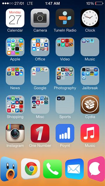 Tweak to make springboard folders transparent? - iPhone, iPad, iPod - how to make a picture transparent