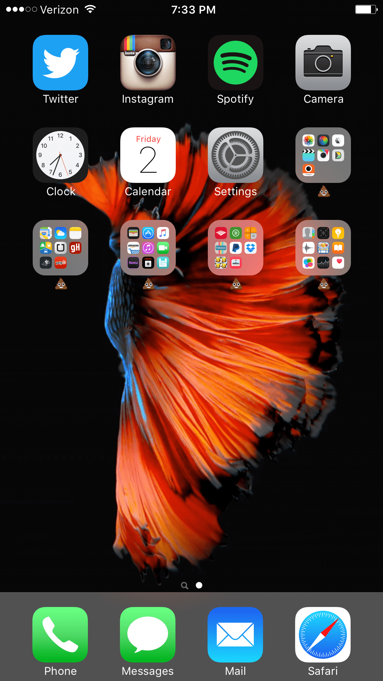 Quote Mac Wallpaper Iphone 6 S Post Your Iphone 6s 6s Plus Home Screen