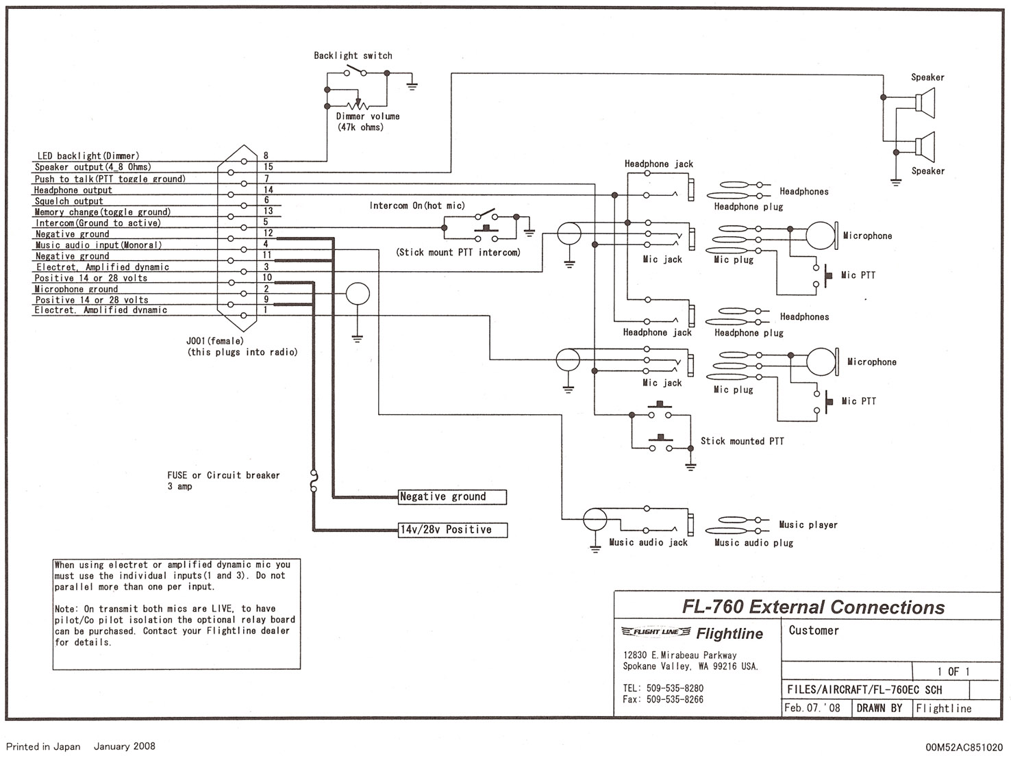 cessna alternator wiring diagram