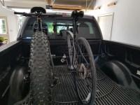 show your DIY truck bed bike racks