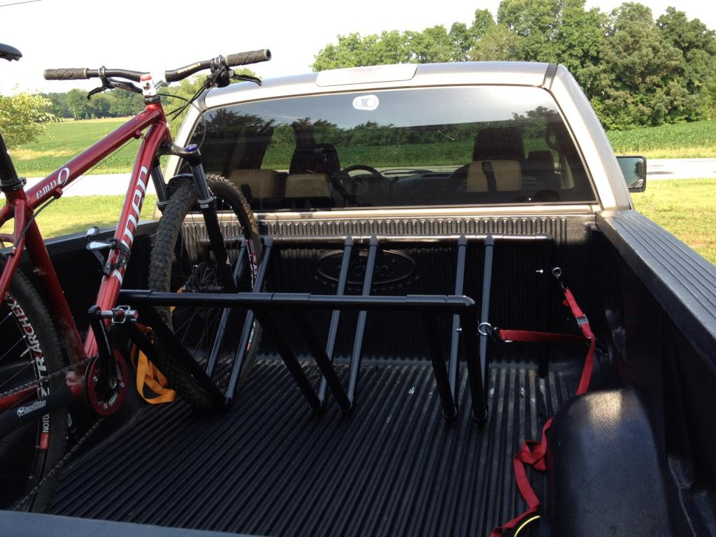 Truck bed stand question.