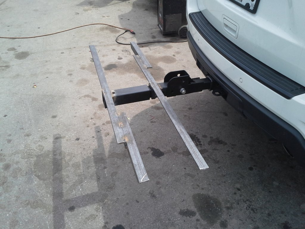 Homemade Hitch Tray Mounts Mtbrcom