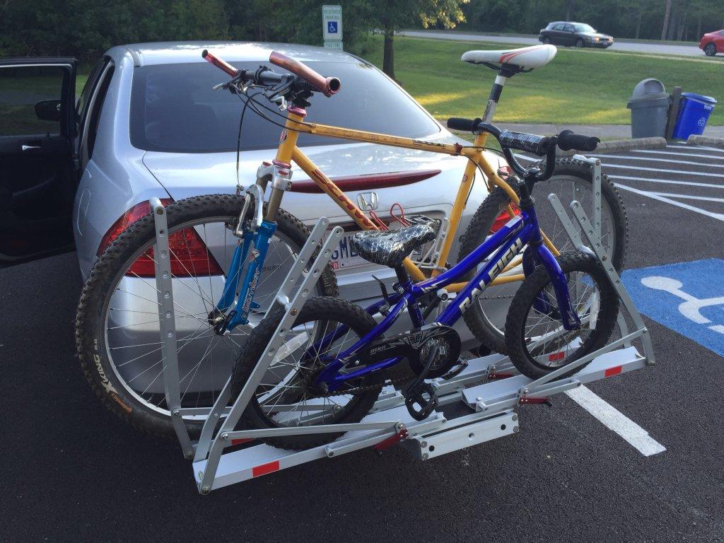 Any Hitch Mount Car Racks Good For Kids Bikes Mtbrcom
