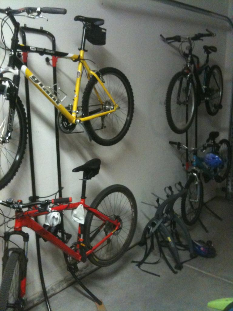 Parking Garage Bike Rack Garage Wall Bike Rack Pmpresssecretariat
