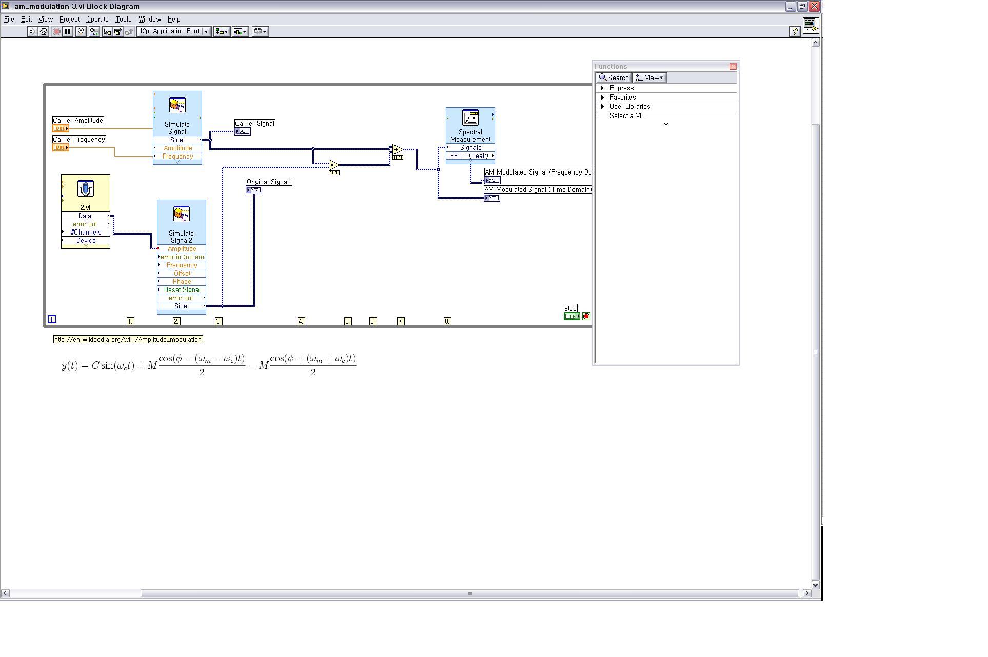 block diagram in labview