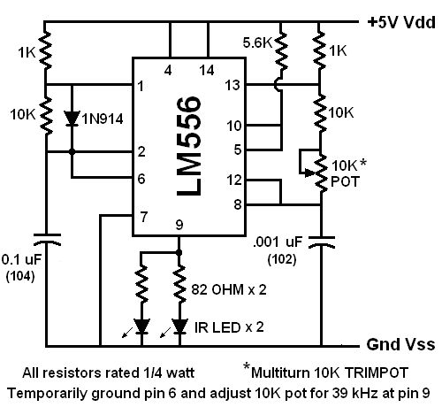 pololu ir beacon transceiver schematic