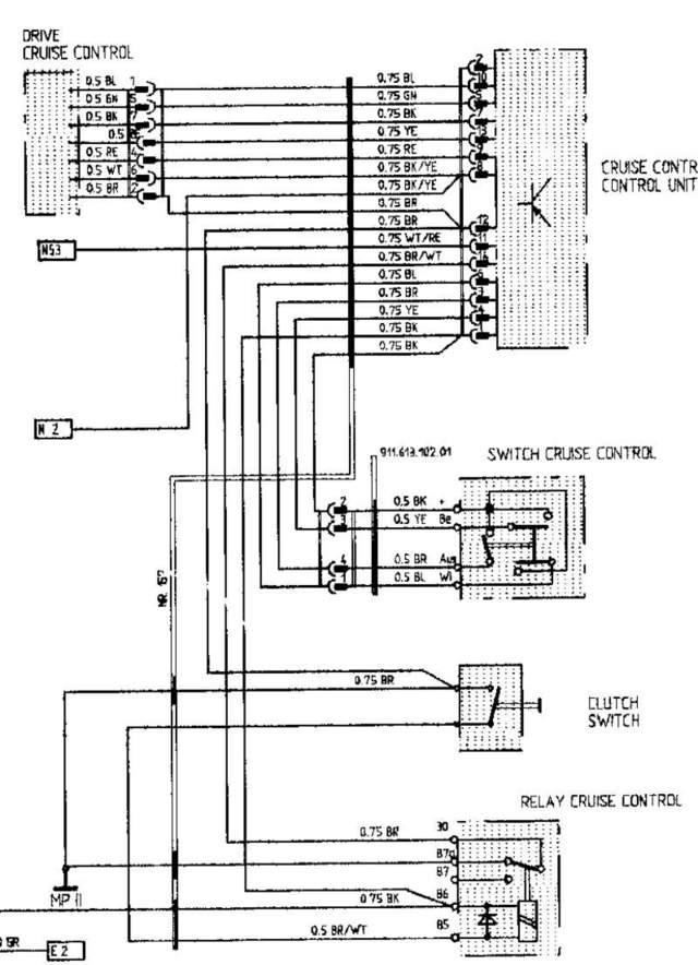 isuzu cruise control diagram
