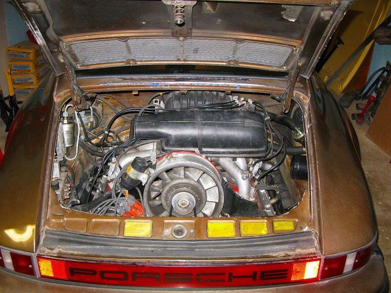 porsche 911 engine bay diagram