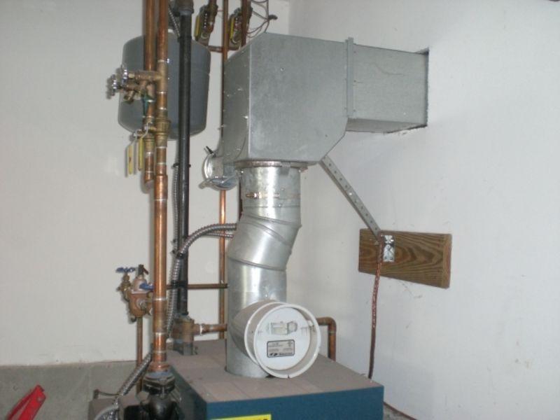 Oil Furnace Power Vent