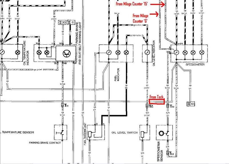 mgb tachometer wiring diagram