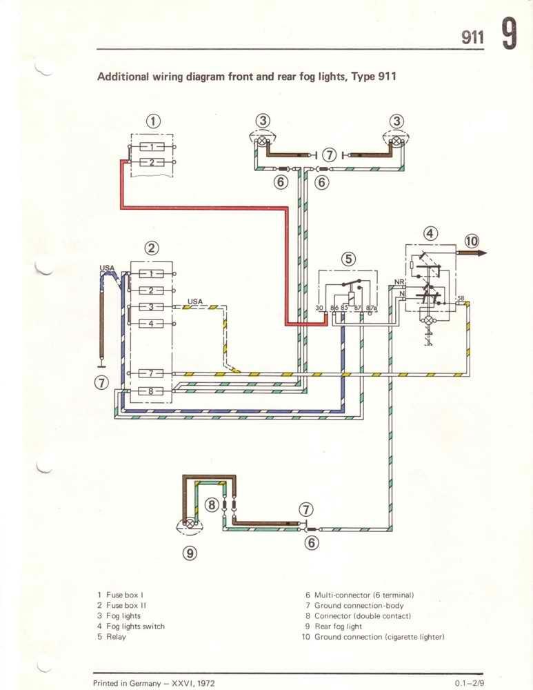 light relay wiring diagram additionally fog light wiring diagram