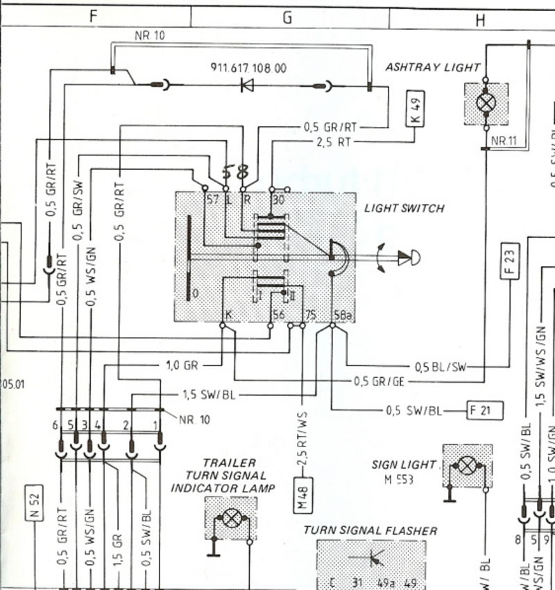 1989 porsche 911 wiring diagram