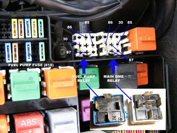 92 Bmw 325is Fuse Control Cables  Wiring Diagram