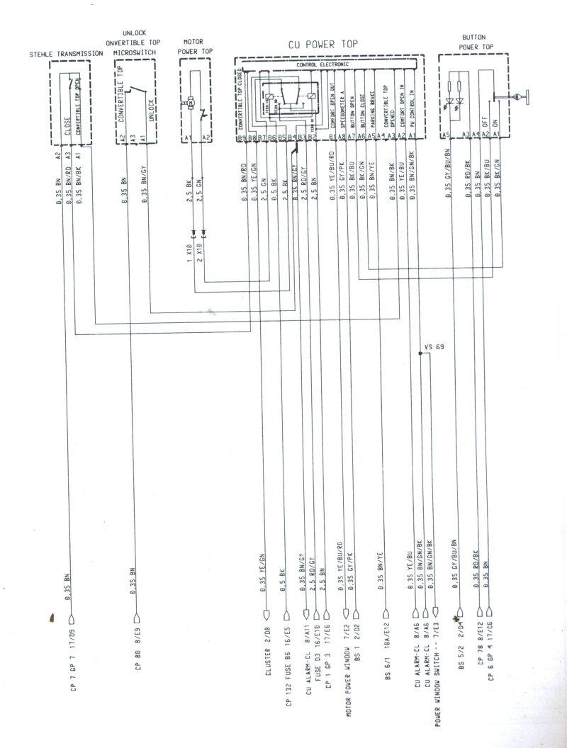 2002 porsche boxster fuse box diagram