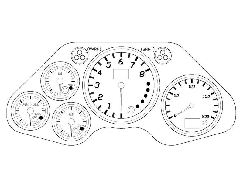 race car gauges wiring