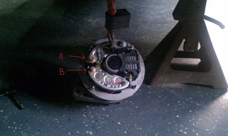 82 porsche 928 alternator wiring