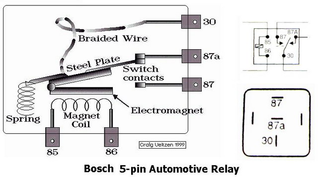 wiring schematic for 5 pin relay