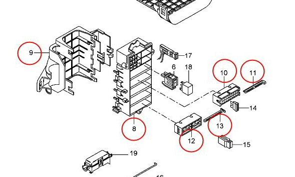 boxster 987 fuse box