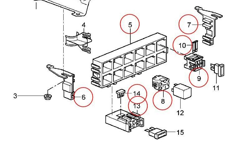 fuse box panel sheet