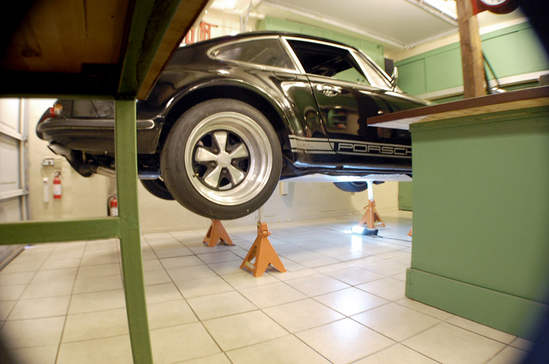 Laying Porcelain Tile For Garage Floor - 6Speedonline - Porsche