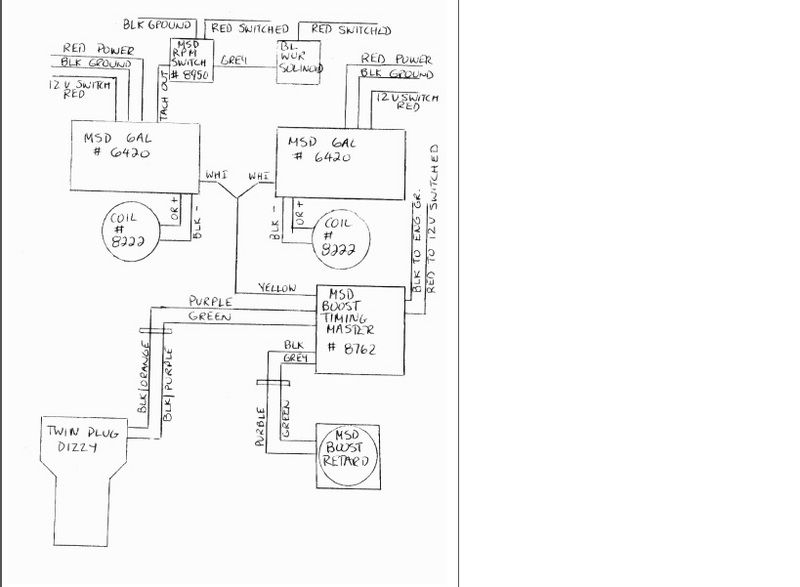 msd tachometer wiring diagram tach adapters msd performance products