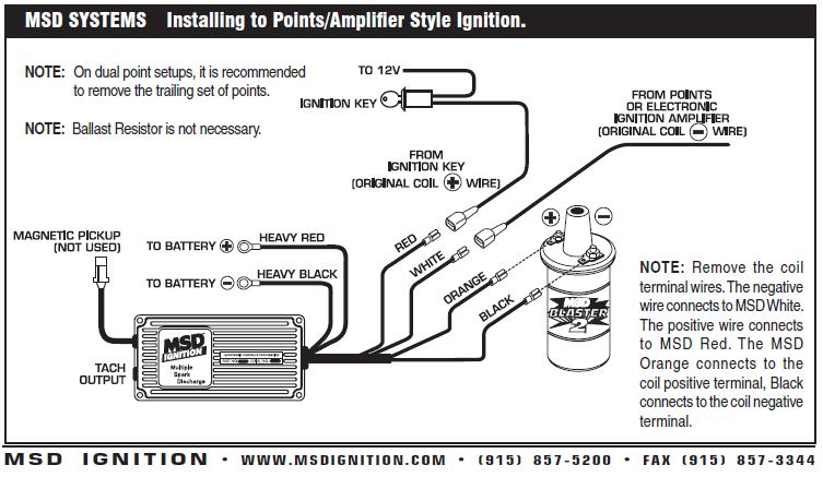 msd 6al ignition box wiring diagram