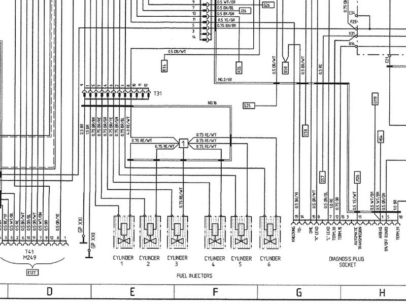 6 pin connector wiring diagram