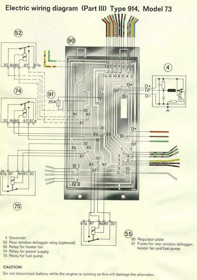Porsche 914 Wiring Harness Diagram - Wiring Solutions