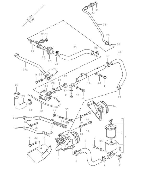 diagram as well mazda 626 engine diagram on 2000 mazda millenia
