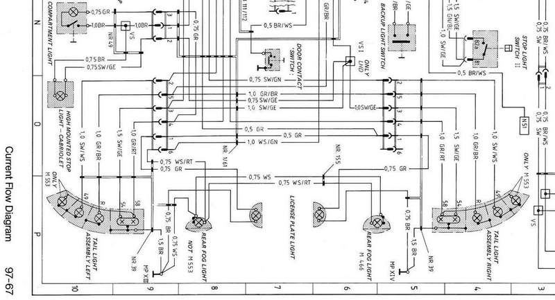Porsche Lights Wiring Diagram - Wiring Diagrams Schema