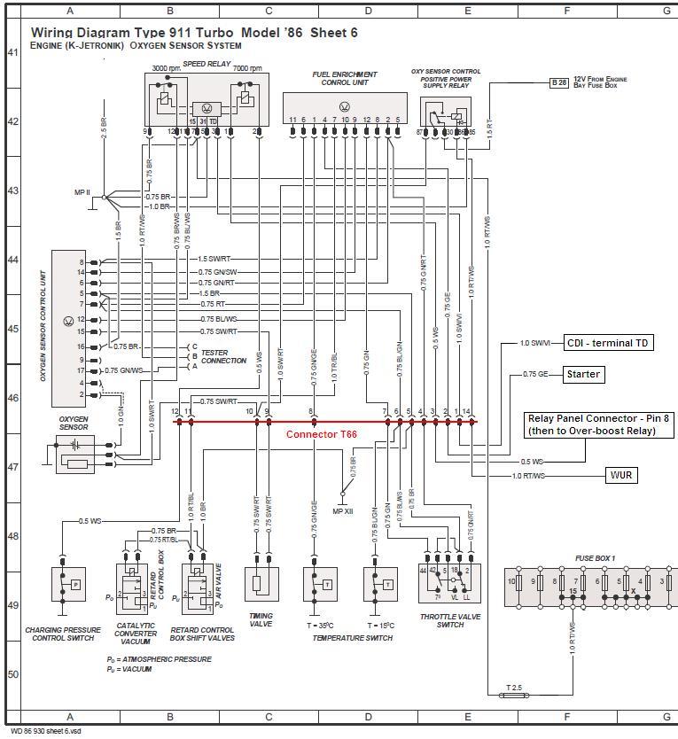 1975 porsche 911 wiring diagram