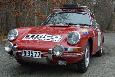 1968 Porsche Rally Car - Pelican Parts Technical BBS