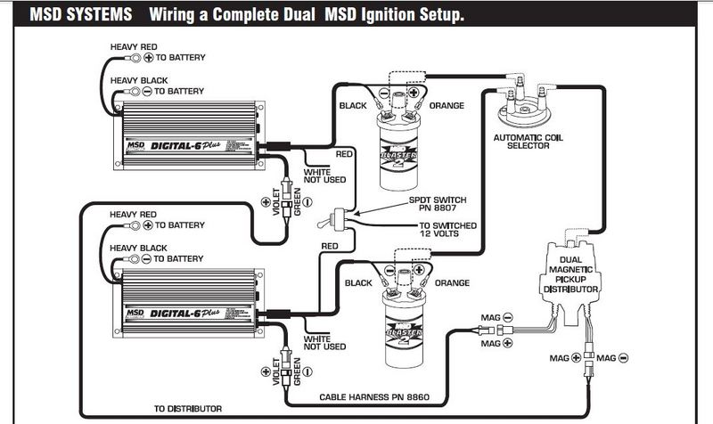 digital 7 msd wiring diagram