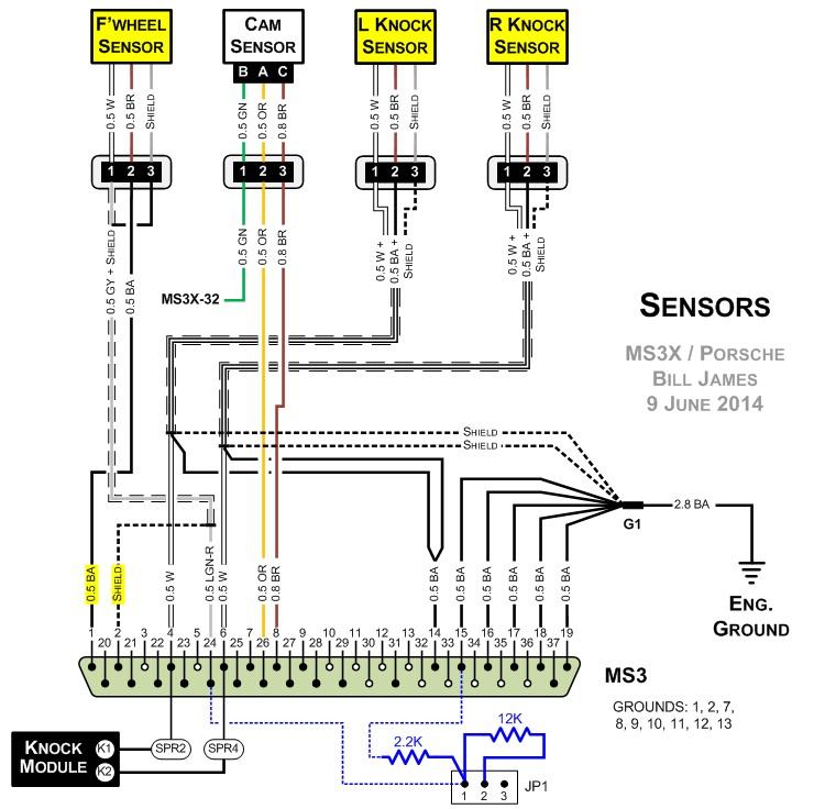 audi oxygen sensor wire diagram