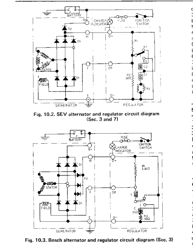 diagram bosch points ignition engines wiring diagrams for rotax