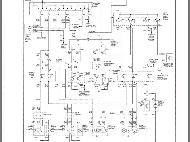 mini cooper convertible fuse diagram