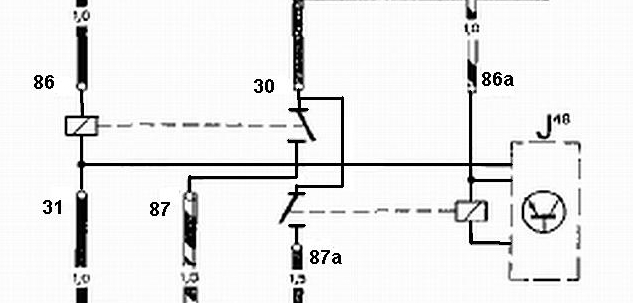 automobile relay numbers