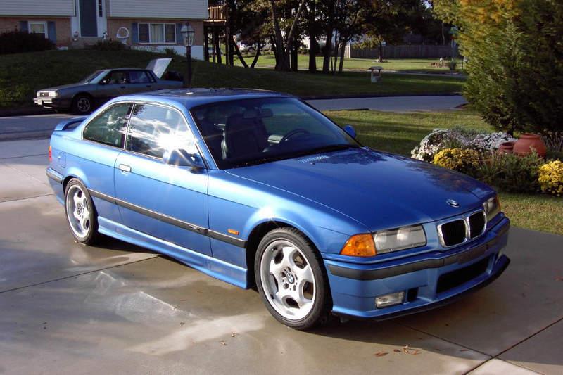 Sleeper Car Wallpaper 1999 Bmw E36 M3 2dr Coupe Estoril Blue For Sale