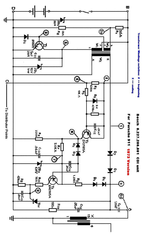 1976 porsche 911 fuse box diagram