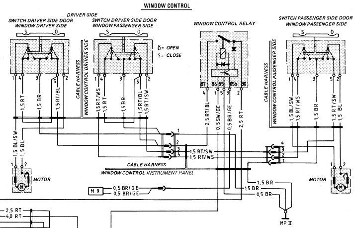 1983 porsche 944 relay diagram