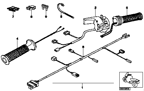 Bmw Heated Grip Wire Harness Wiring Diagram